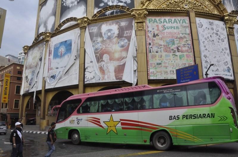 Bus in Kuala Lumpur