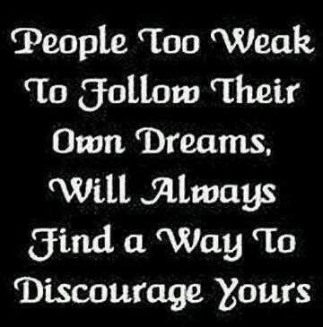 people too weak...