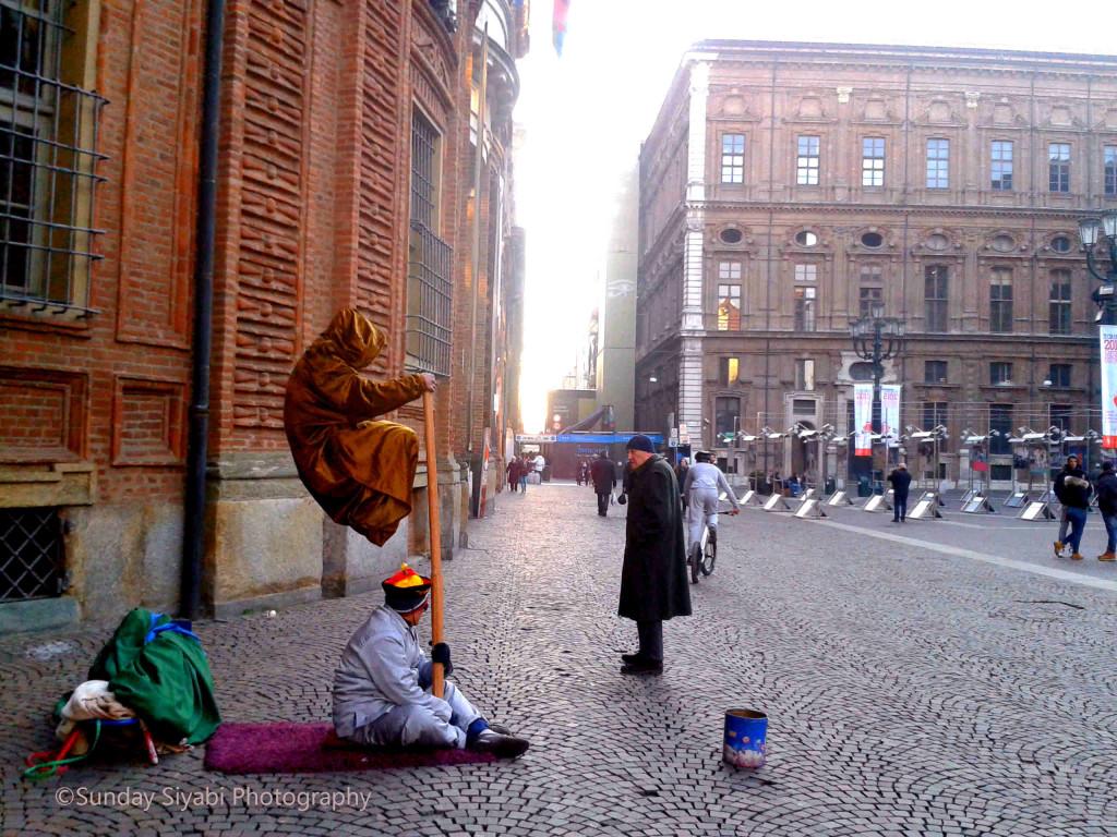 Piazza Carignano Torino