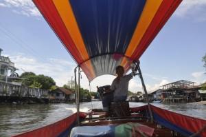 Bangkok Yai Canal long tail boat
