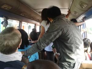 Bus confine Thailandia Laos