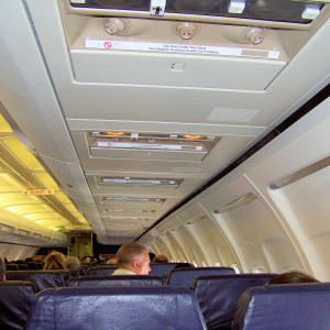 Interno aereo viaggio aereo