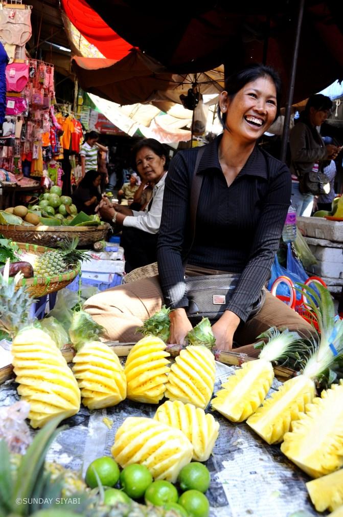 Boeung Keng Kang Market phnom penh cambogia