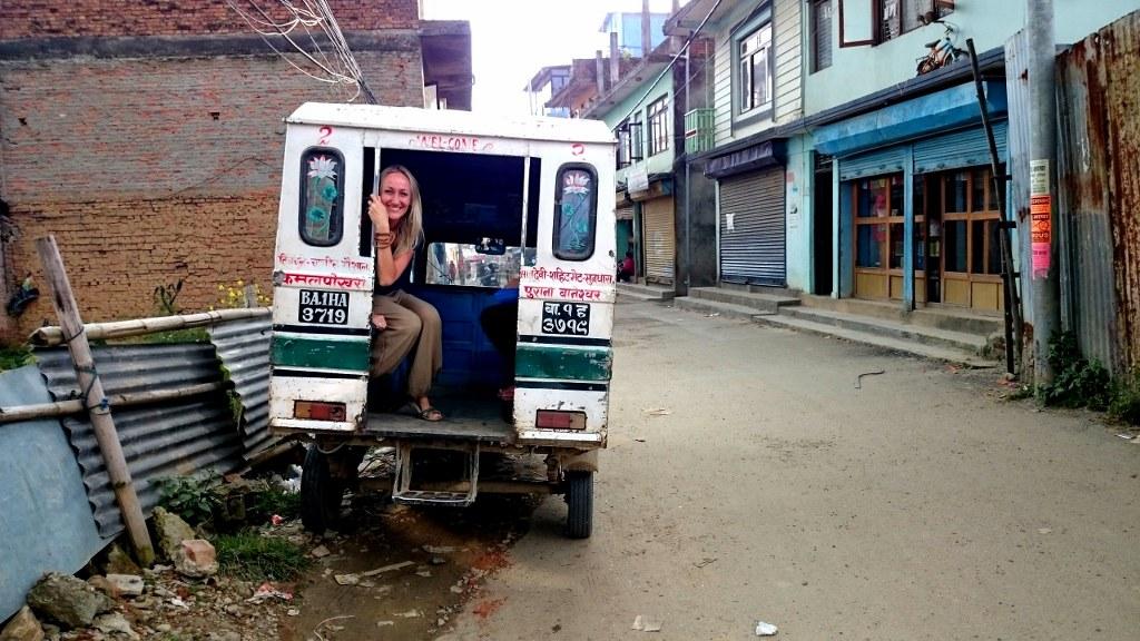 cambiare vita nepal kathmandu