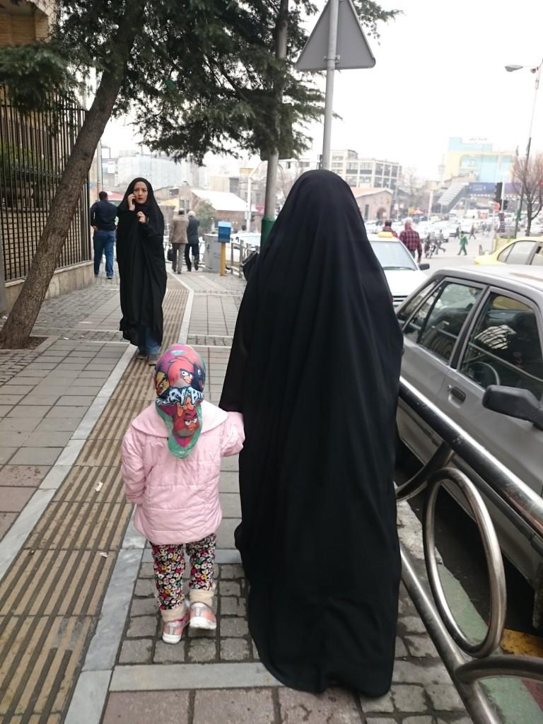 viaggiare da sola Iran Teheran