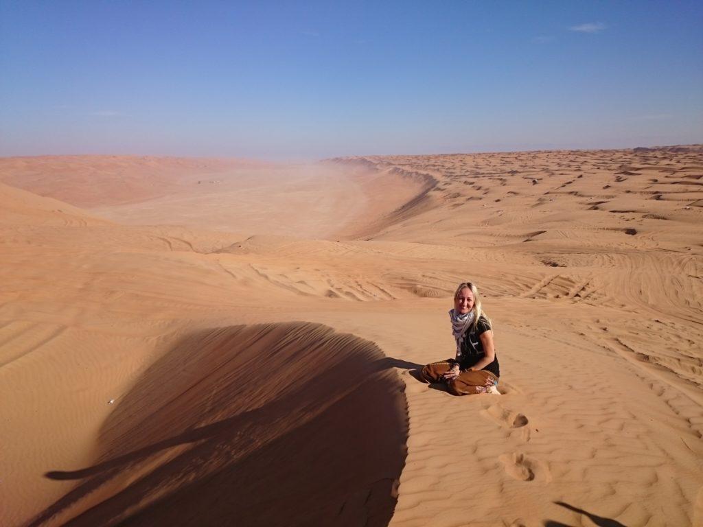 viaggiare da sola in Oman