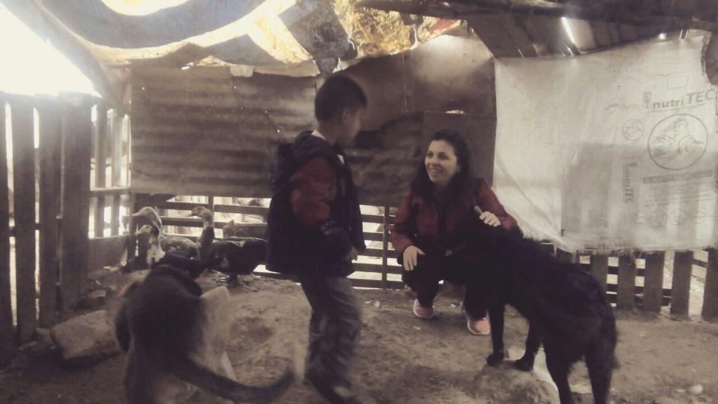 cambiare vita volontariato Perù
