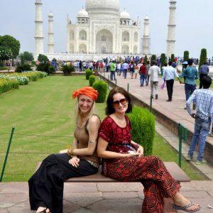 viaggio in india taj mahal