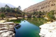 viaggio in Oman wadi bani khalid