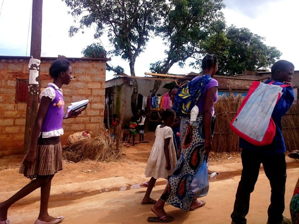 volontariato in zambia