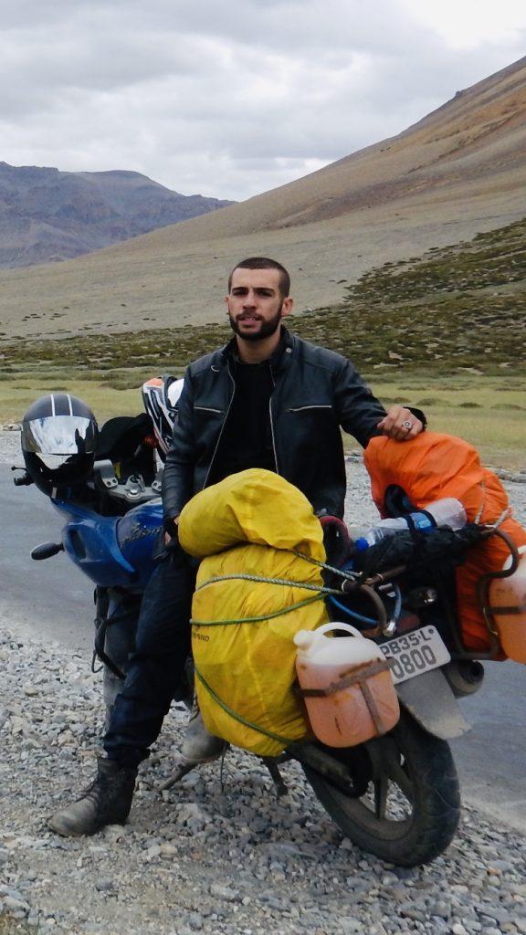 viaggio in india in moto