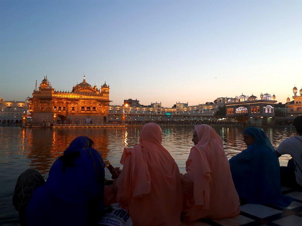 viaggiare da sola in india amritsar punjab