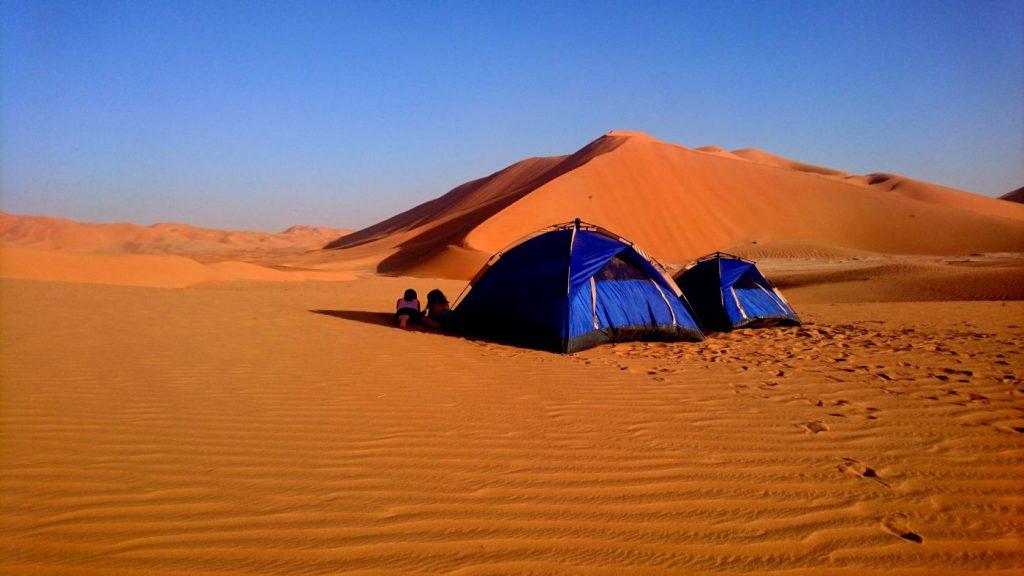 Viaggio in Oman notte nel deserto Quarto Vuoto Salalah