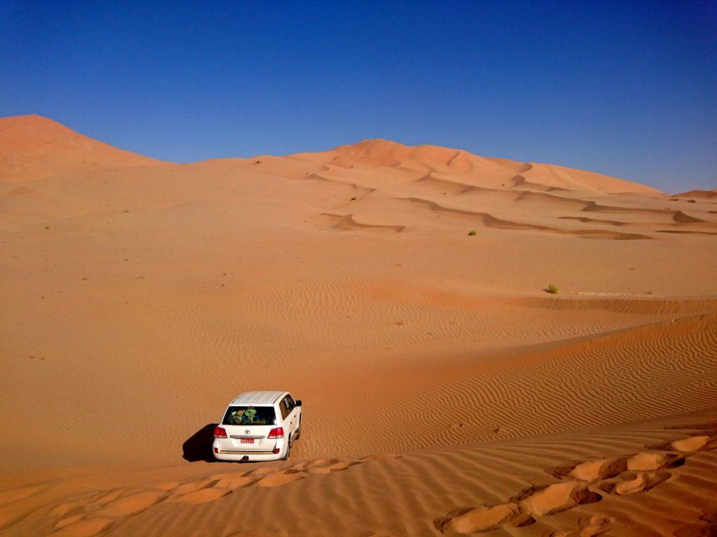 Viaggio in Oman deserto Quarto Vuoto Salalah