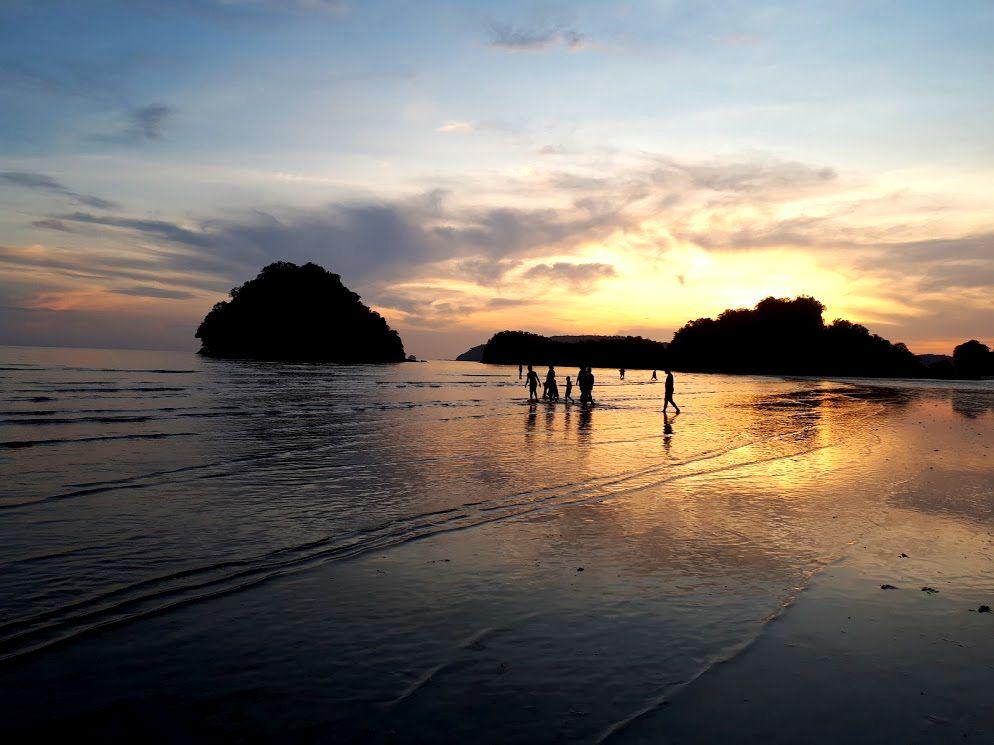 tramonto thailandia nopparat thara beach ao nang